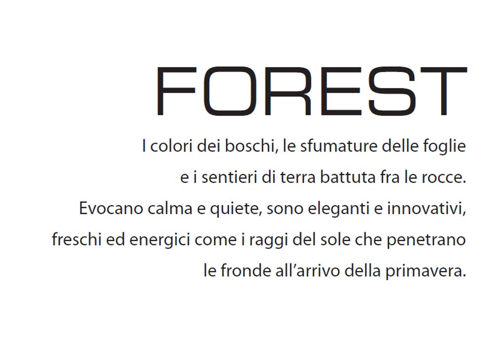 forest text